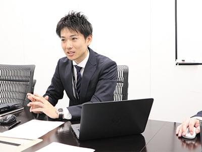 BPR推進課の的場健太氏