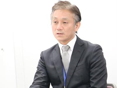 取締役営業本部長 田中氏