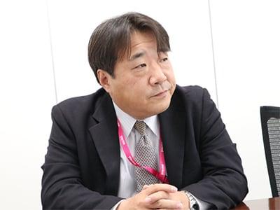 情報管理部情報管理課担当マネージャー 荻野氏